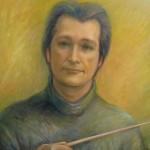 Maestro Alexander, oil on canvas, 46X62 cm