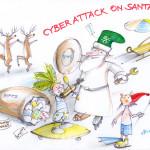 """""""Cyber Attack on Santa"""", 2014"""
