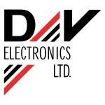 D&V Electronics, logo, 1997