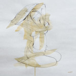 Sketch 2 – pen, sepia washes, 33X43 cm