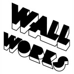 Wall Works, drywall label, 1996