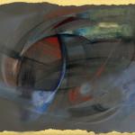 The Night Train, 48X33 cm