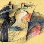Tuscan Dance, 33X48 cm